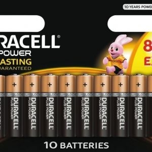 Duracell Plus Power AA 8+2 kpl