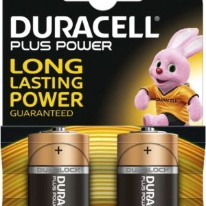 Duracell Plus Power C 2 kpl