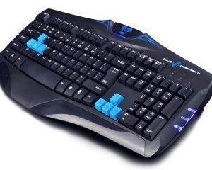 E-blue näppäimistö Combatant