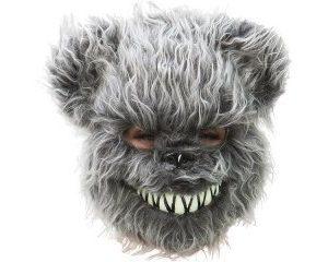 Evil teddy grey
