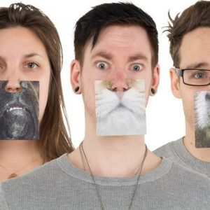 Face Mats Party Animals