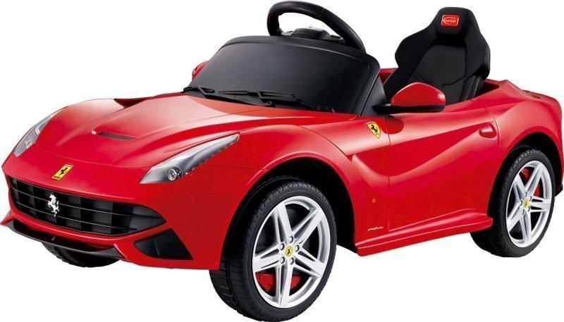 Ferrari F12 Berlinetta Sähköauto Punainen