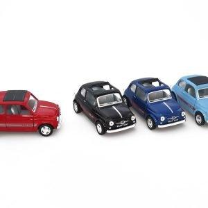 Fiat 500 1:24 Metallia
