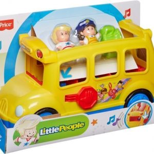 Fisher-Price Little People Aktiviteettilelu Koulubussi