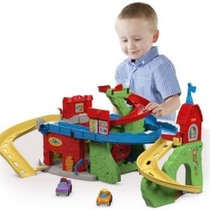 Fisher-Price Little People Sit 'N Stand Skyway Leikkisetti