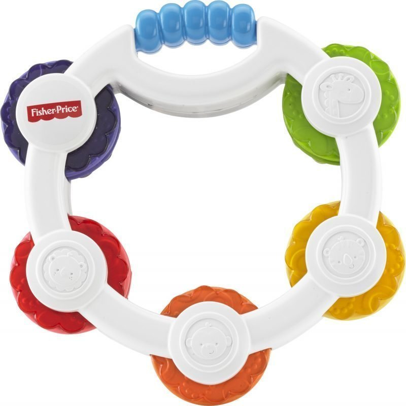 Fisher-Price Newborn Tap N Play Tambourin