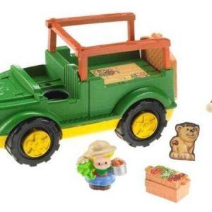 Fisher-Price Safariauto ja hahmot