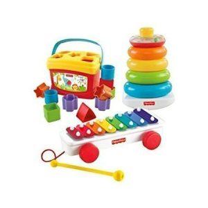 Fisher-Price kolme klassikko lelua