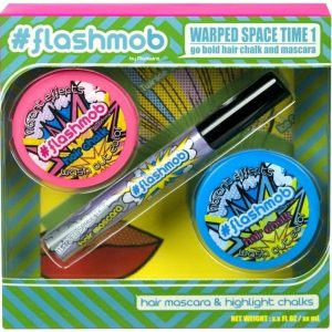 Flashmob Warped Space Time 2 hiusliitua & 1 hiusmaskara