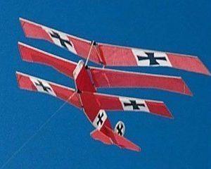 Flygande drake Fokker triplane