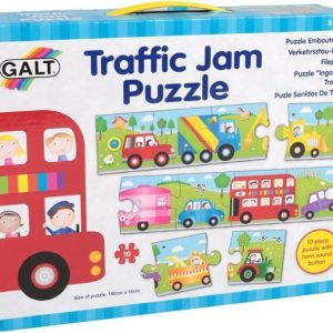 Galt Lasten palapeli Traffic Jam Puzzle