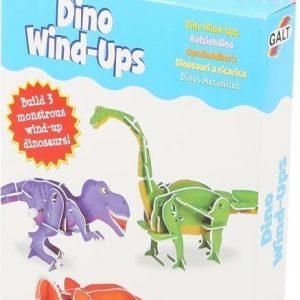 Galt Rakenna liikkuvat dinosaurukset 3 kpl