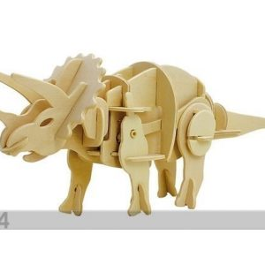 Gerardo`S Toys 3d Palapeli Liikkuva Triceratops