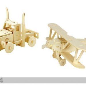 Gerardo`S Toys 3d Palapeli Rekka Ja Lentokone