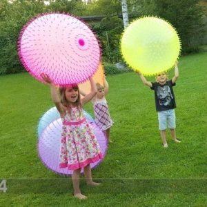 Gerardo`S Toys Pallo Sähköpumpulla Bubble Fluffy