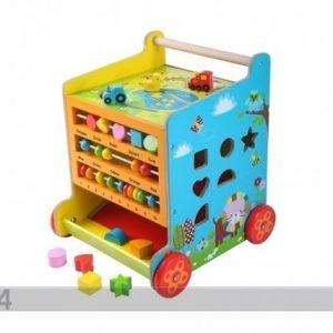 Gerardo`S Toys Puinen Leikkikeskus-Kävelytuki