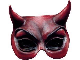 Ghoulish - devil halfmask red