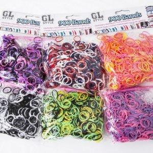 Gl Style Loop&Loom Täyttöpakkaus 900 Kpl