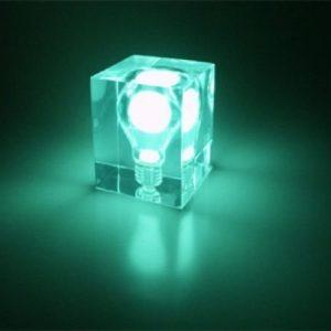 Glow Brick vihreä
