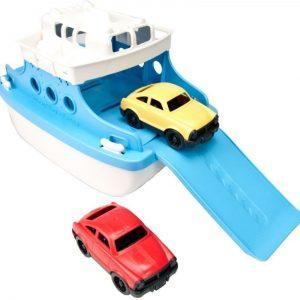 Green Toys Lautta autoilla
