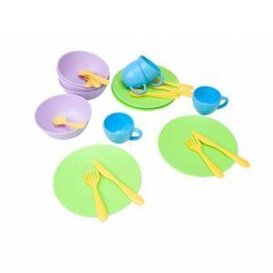 Green Toys Leikkiastiasto 24 Osaa
