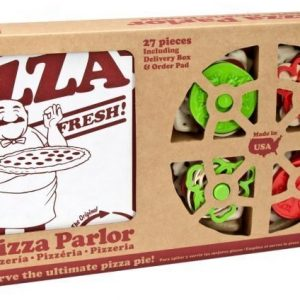Green Toys Leikkiruokaa Pizza Set 27 osaa