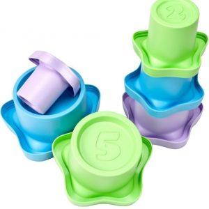 Green Toys Pinottavat Mukit 6 kpl