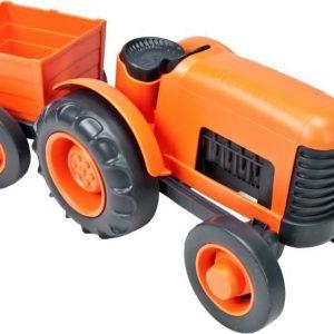 Green Toys Traktori perävaunulla