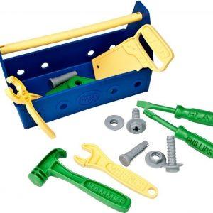Green Toys Työkalulaatikko Sininen 15 osaa