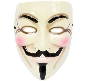 Guy Fawkes / Anonymous naamari