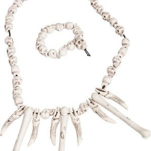 Halsband och Armband Skelett