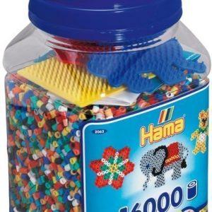 Hama Helmisetti Beads Mix 16 000 helmeä