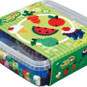 Hama Helmisetti Maxi Beads Hedelmät 600 kpl