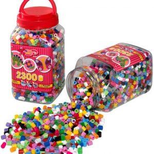Hama Helmisetti Maxi Beads Punainen 2300 helmeä