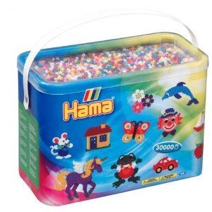 Hama Helmisetti Midi Beads Mix 00 30 000 helmeä