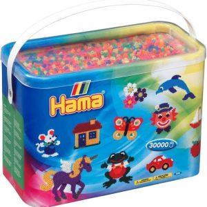 Hama Helmisetti Midi Beads Mix 51 30 000 helmeä