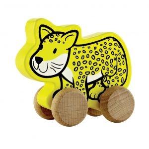 Hape Työntölelu Leopardi