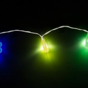 Happy Birthday LED-köynnös