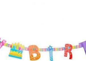 Happy Birthday -syndeköynnös