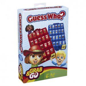 Hasbro Gaming Arvaa Kuka? Matkaversio