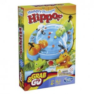Hasbro Gaming Hungry Hungry Hippos Matkaversio