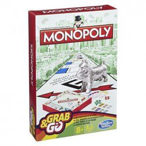 Hasbro Gaming Monopoly Matkaversio