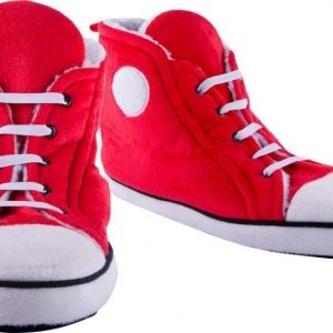 High top Red Slippers