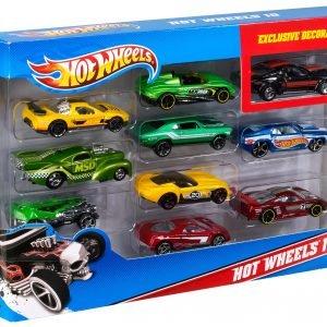 Hot Wheels 10 Autoa