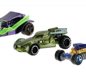 Hot Wheels Autot Batman & Villains 5 kpl