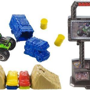 Hot Wheels Monster Jam Crash & Carry Arena Playset