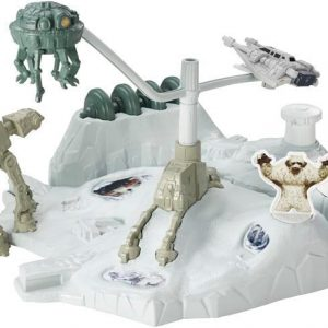 Hot Wheels Star Wars Starship Playset Valkoinen