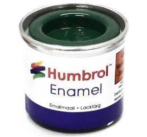 Humbrol 002 Emerald kiiltävä