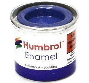 Humbrol 014 French Blue kiiltävä
