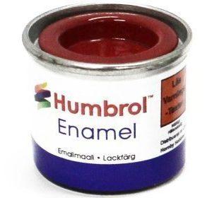 Humbrol 019 Bright Red kiiltävä